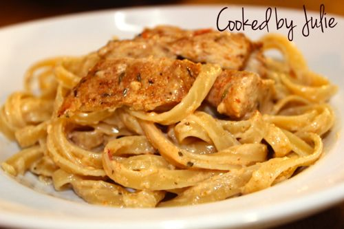 Cajun Chicken Alfredo is a great comforting dish for any night of the week!