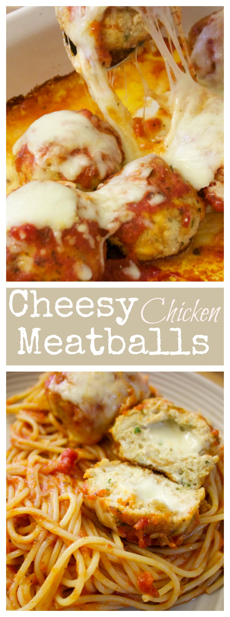 Cheesy Chicken Meatballs Recipe | Video and Recipe from Cooked by Julie