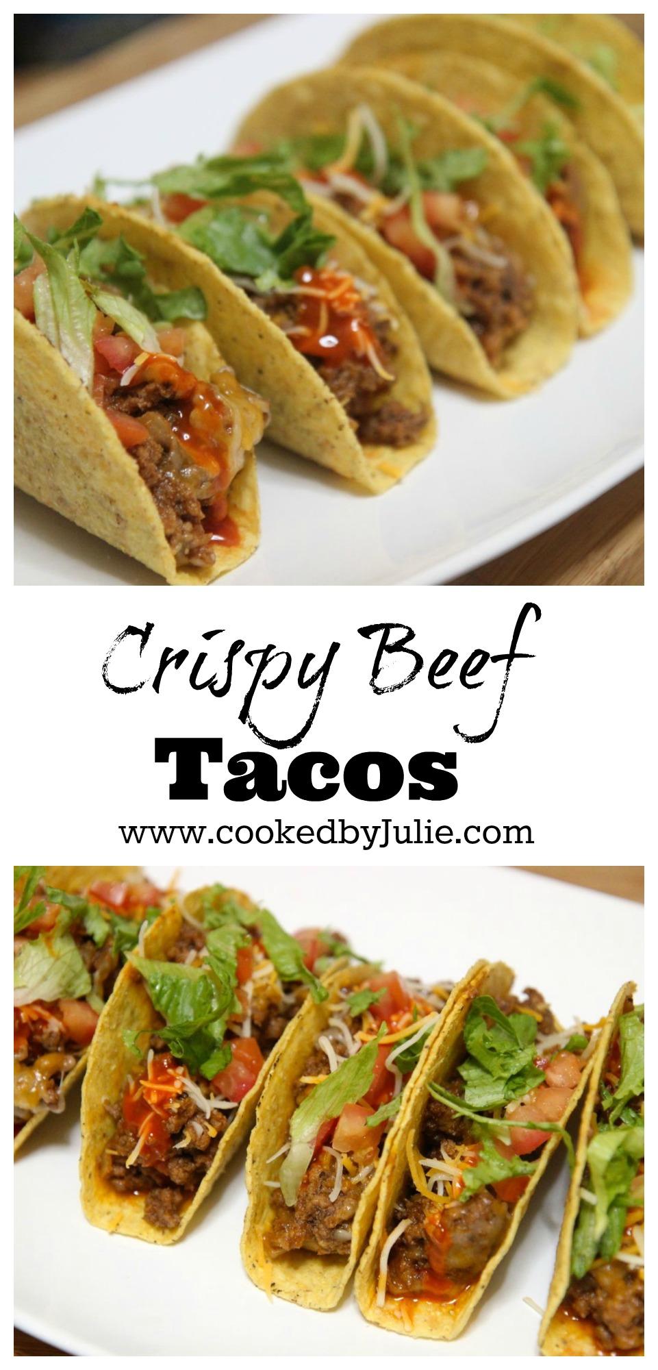 Crispy Beef Tacos | Easy Taco Night Recipe | Homemade Tacos