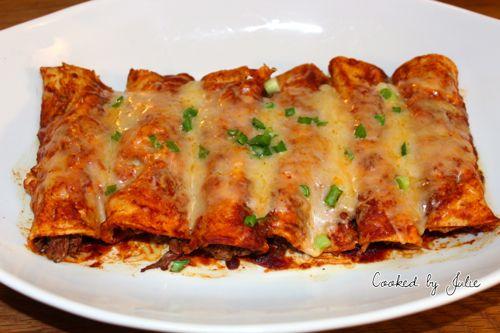 Shredded Beef Enchilada Recipe