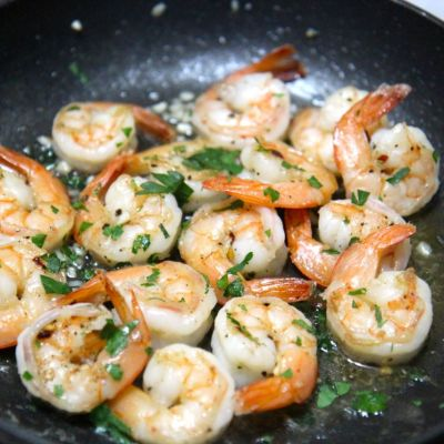 Easy Garlic Shrimp