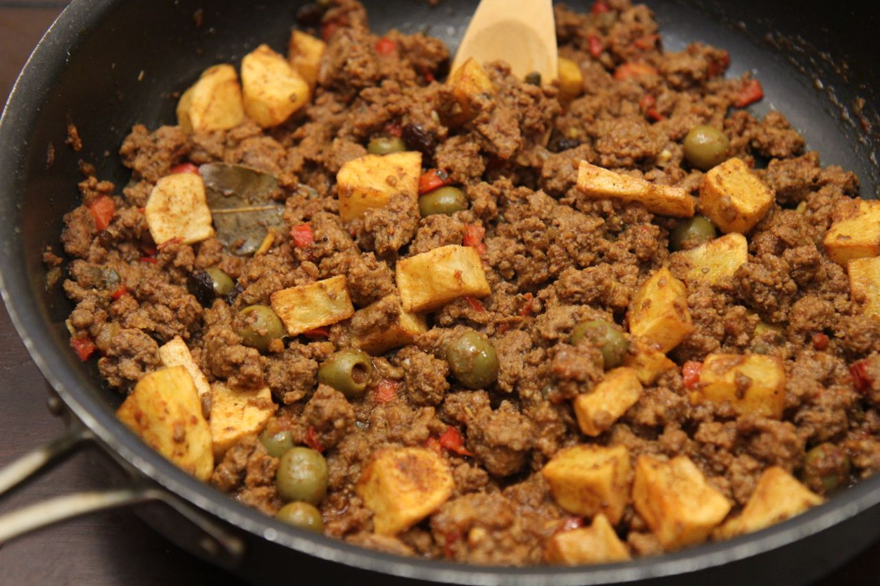 Cuban Picadillo con Papas from Cooked by Julie