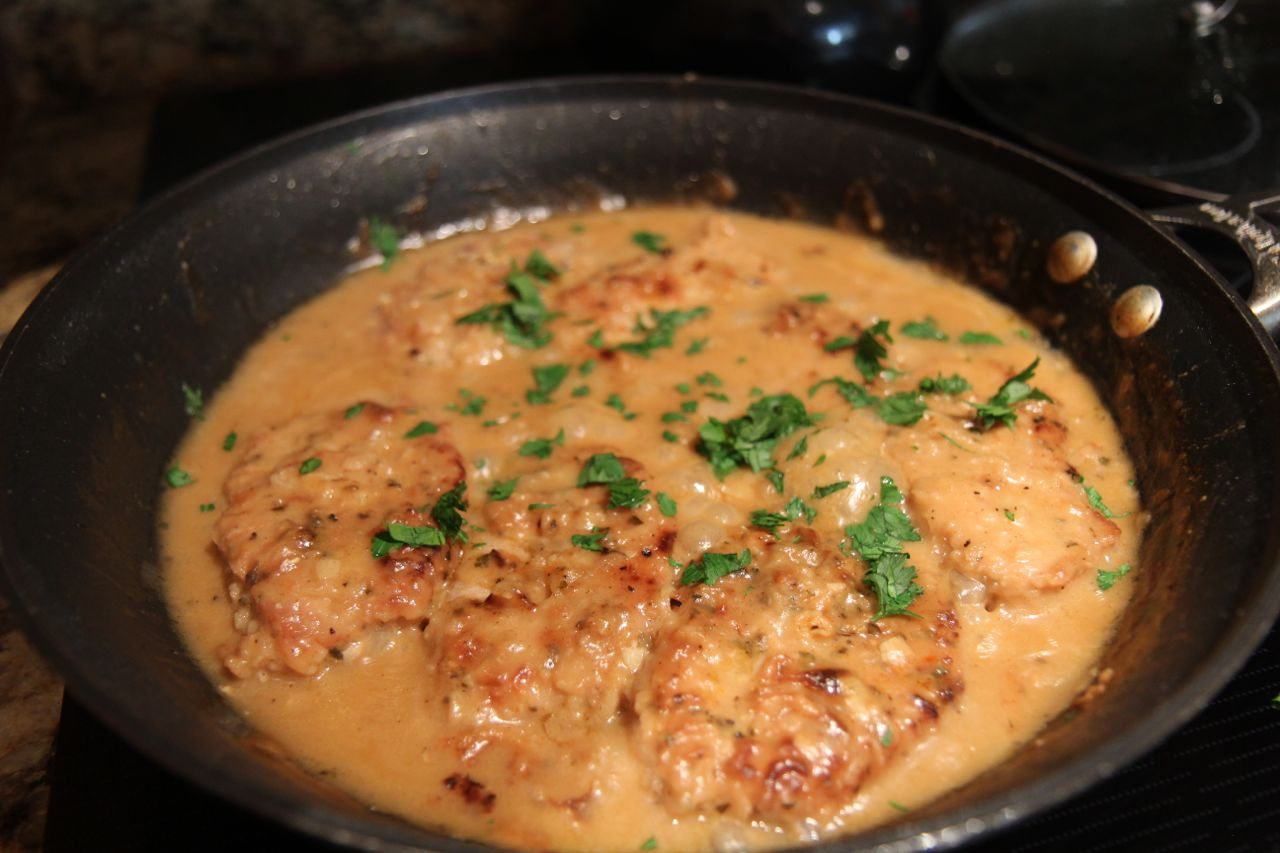 Smothered Pork Chops | Cooked by Julie