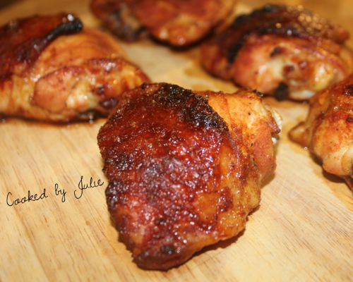 Spicy Honey Baked Chicken, great game day food!
