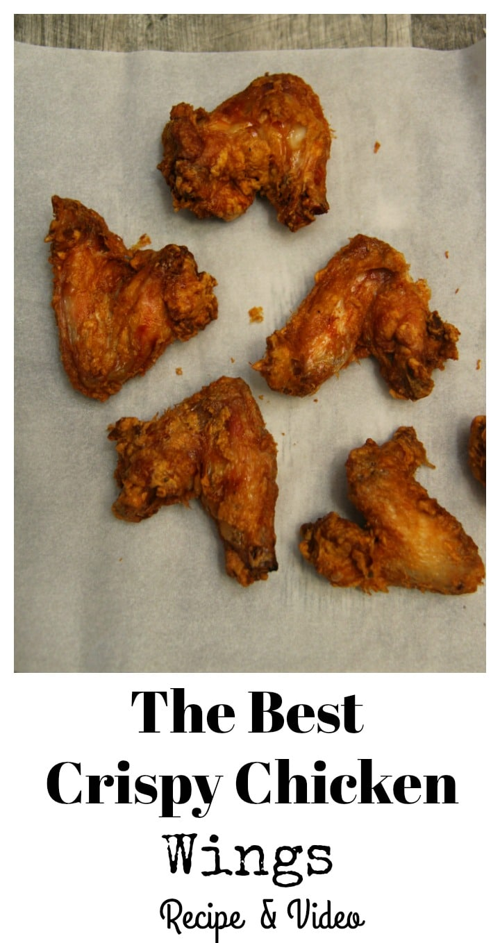 Learn how to make the best crispy chicken wings at CookedbyJulie.com