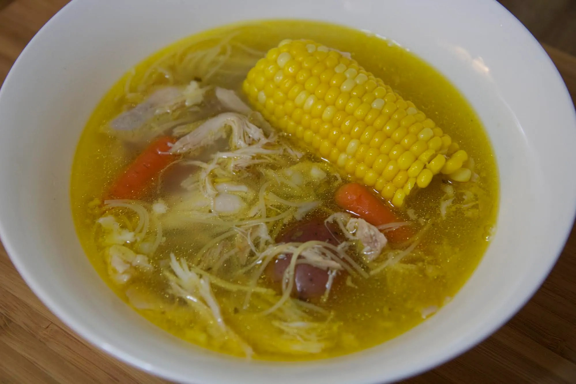 Cuban Chicken Noodle Soup | Cooked by Julie