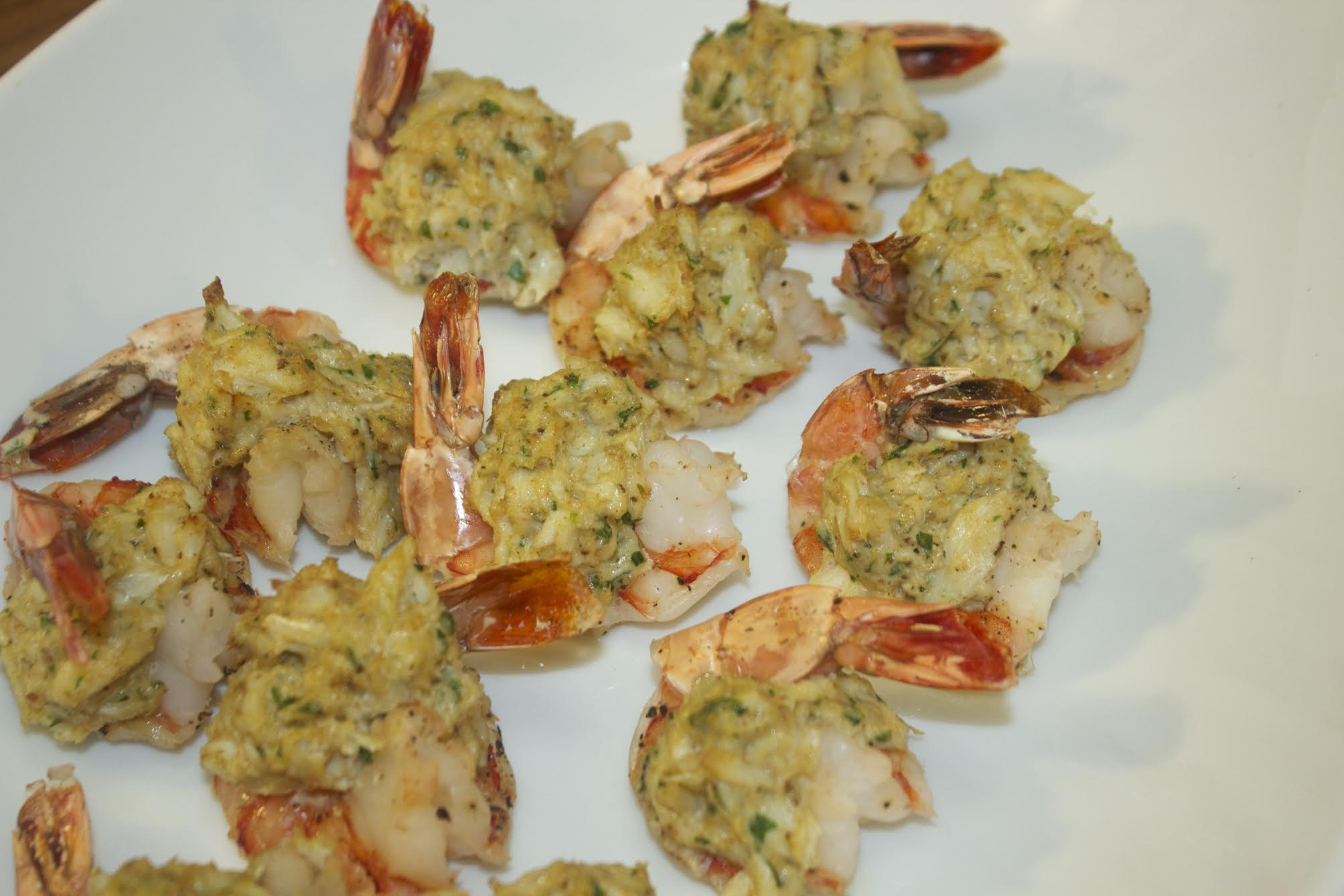 Stuffed Shrimp with real Crab meat from Cooked by Julie