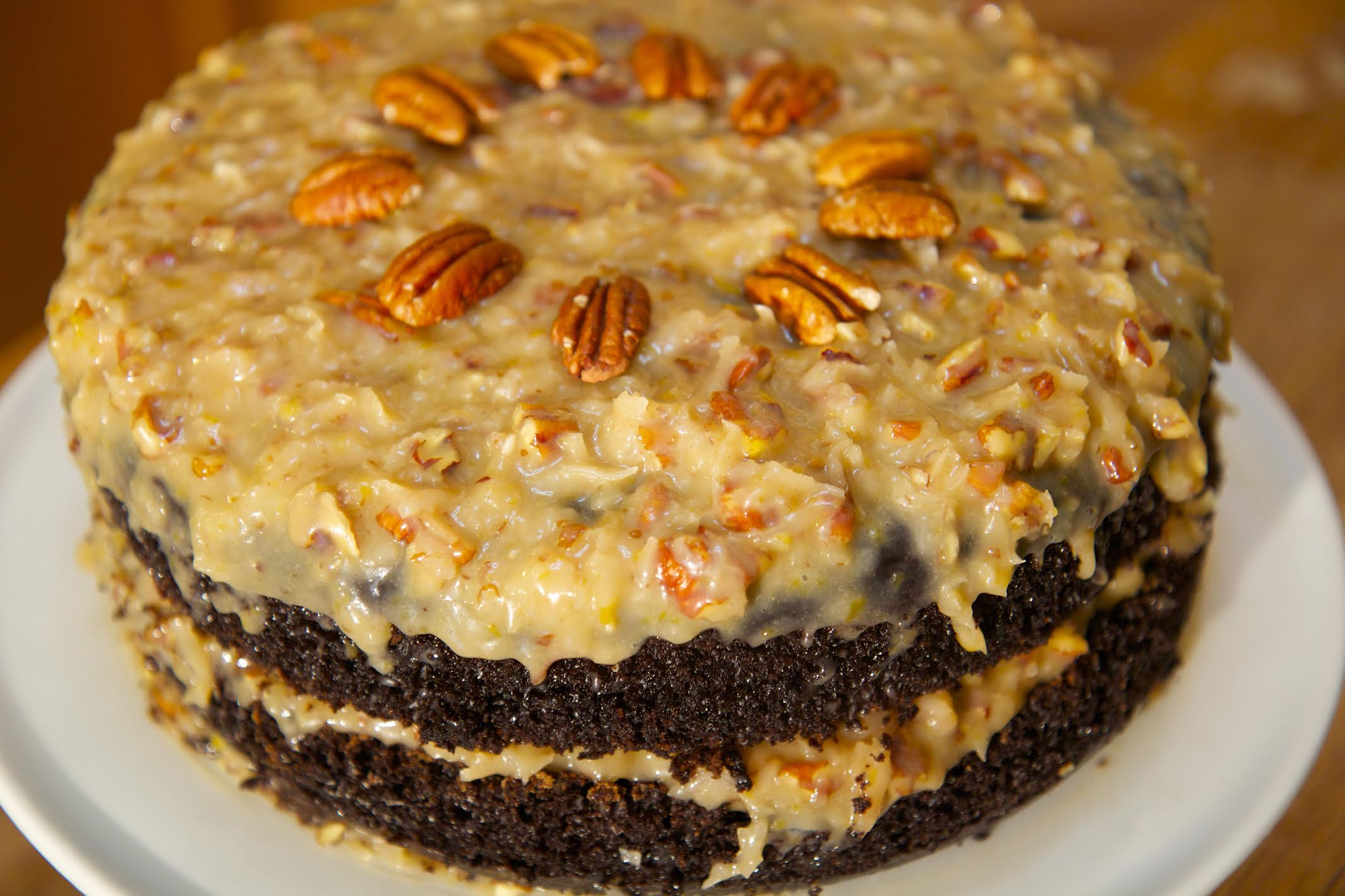 This decadent german chocolate cake is sweet, moist, and packed with flavor. If you're looking for the best german chocolate cake recipe - this is it!
