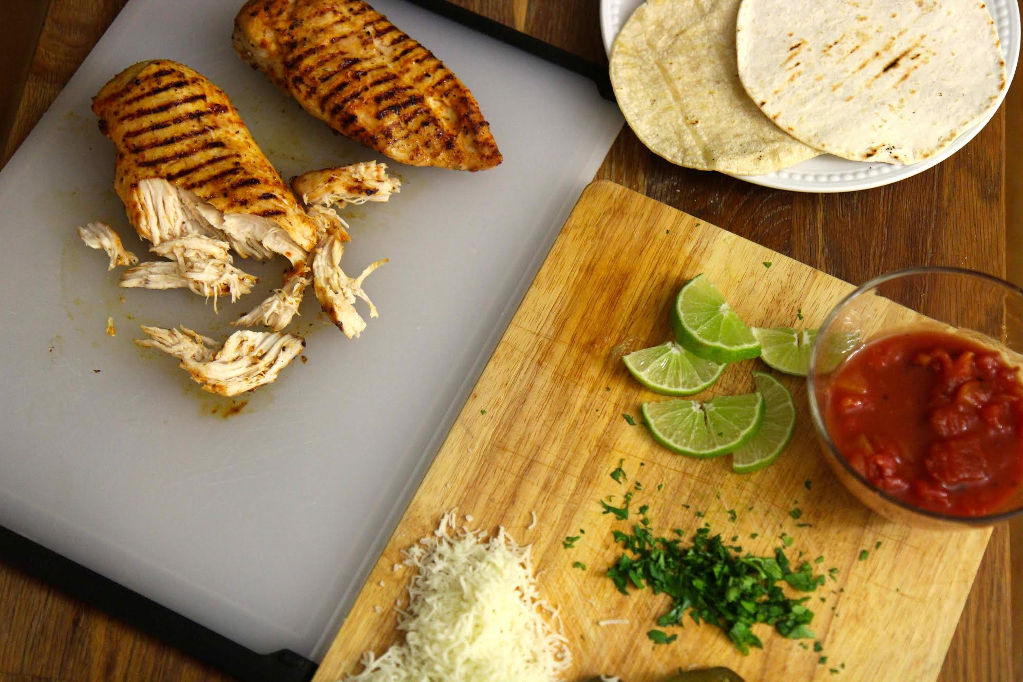 This easy grilled chicken taco recipe is a great way to shake up taco night