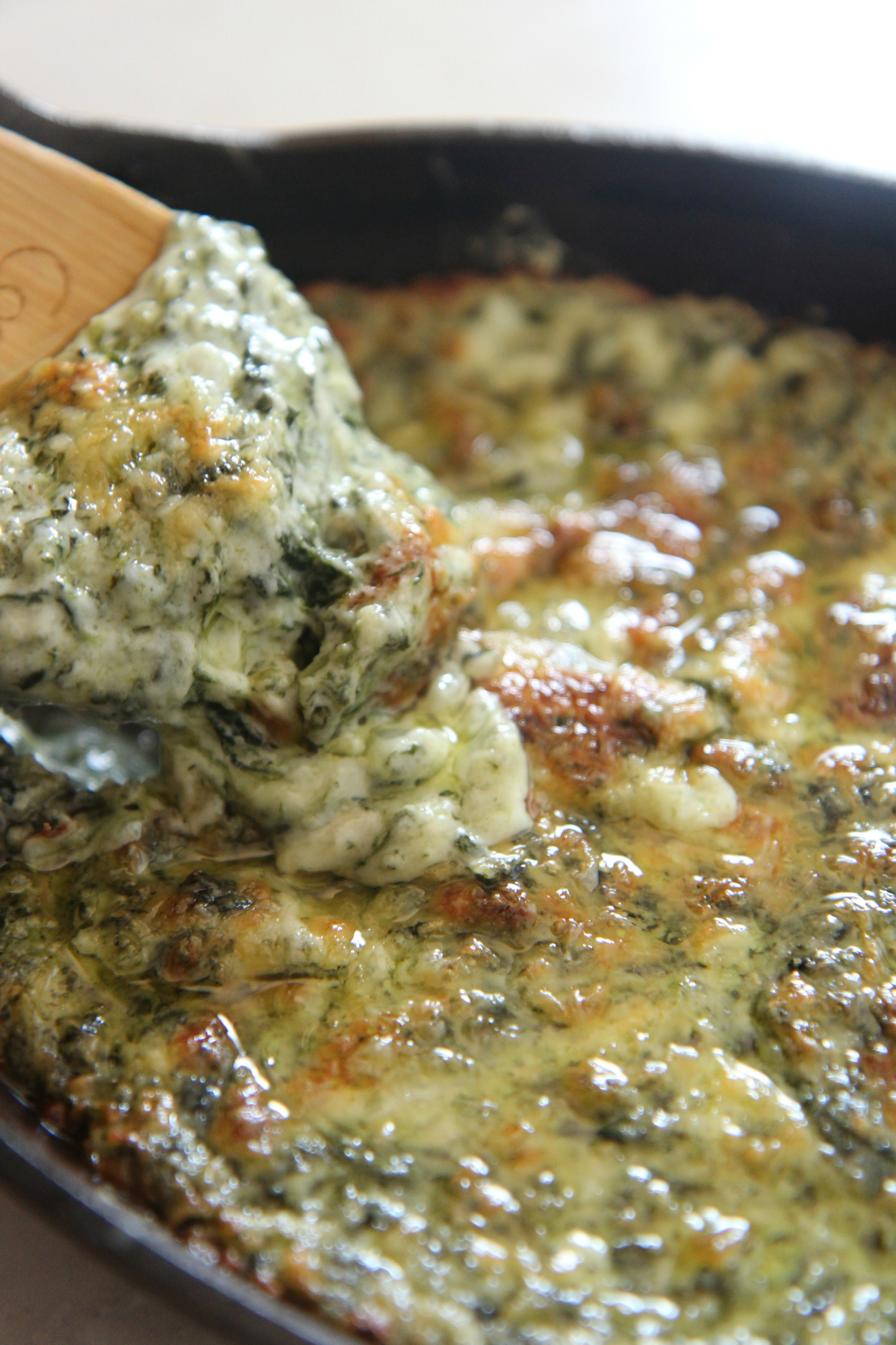 Easy creamed spinach dip recipe by Cooked By Julie