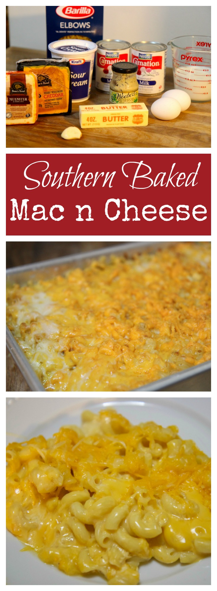 Try this Southern Baked Mac & cheese recipe from Cookedbyjulie.com
