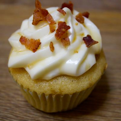 Bacon French Toast Cupcakes