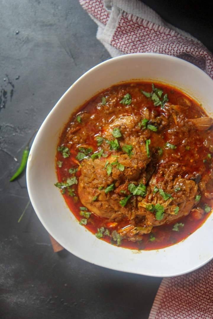 quick and easy instant pot chicken curry