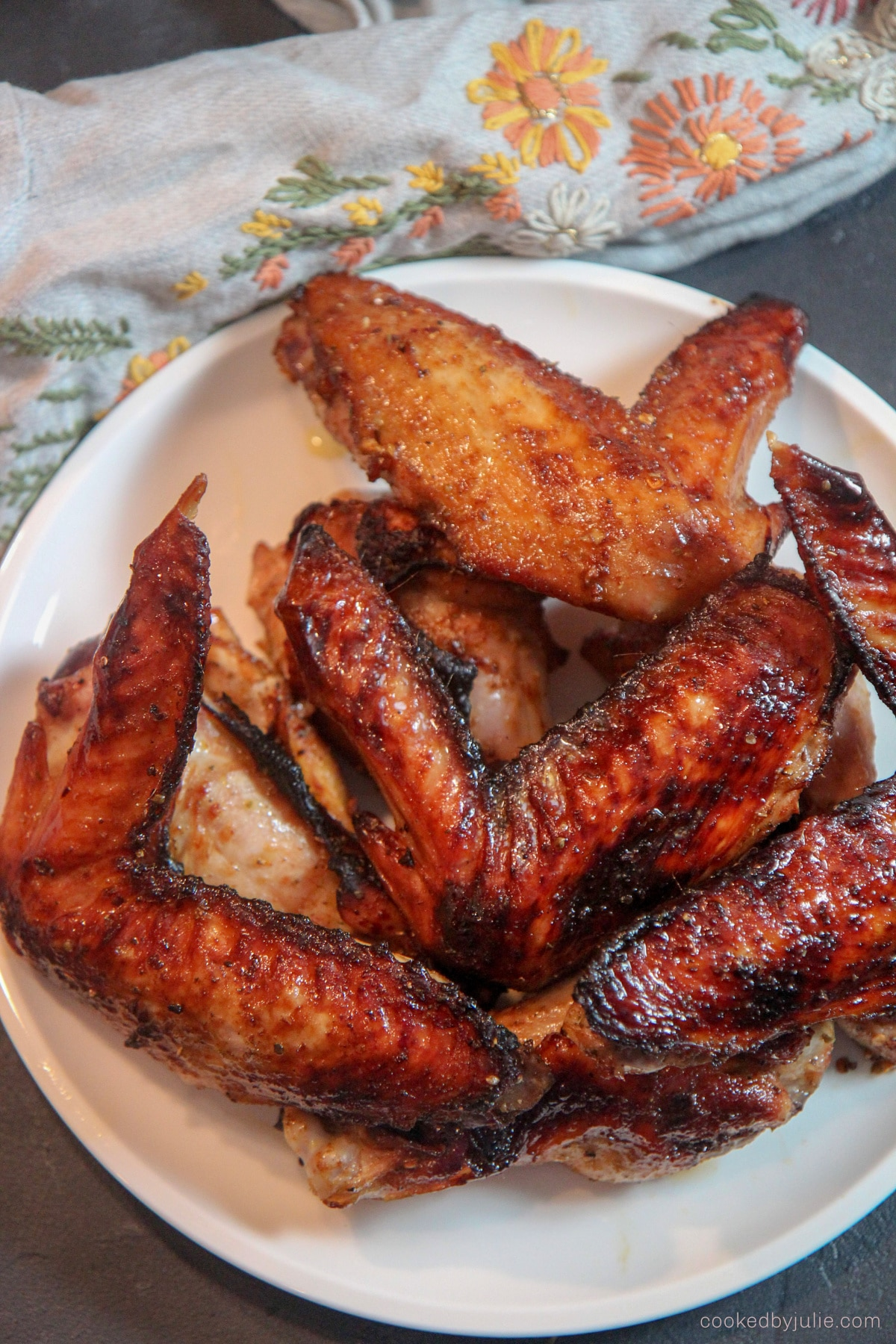 honey roasted turkey wings