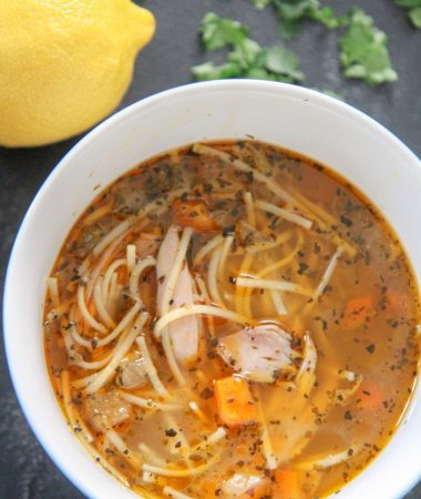 instant pot chicken soup