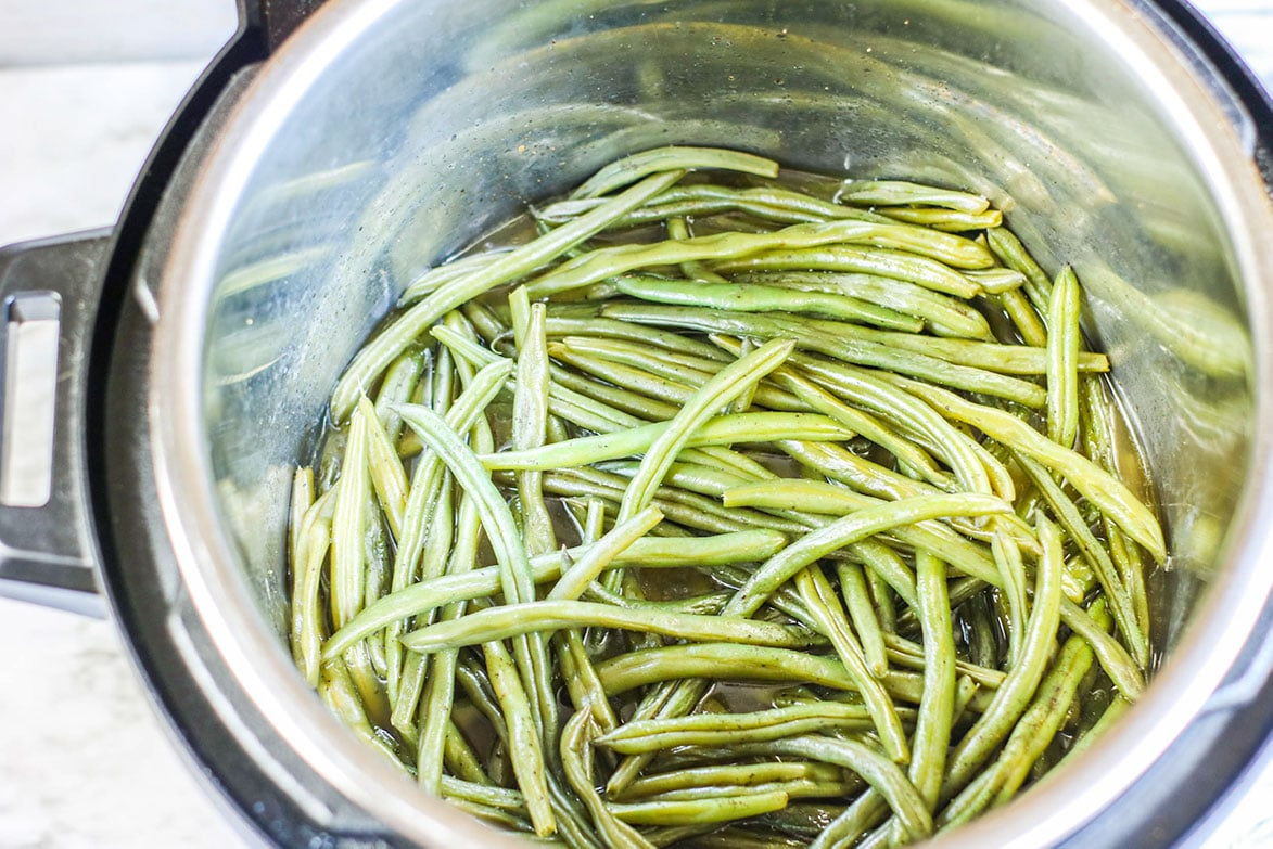 green beans in the instant pot