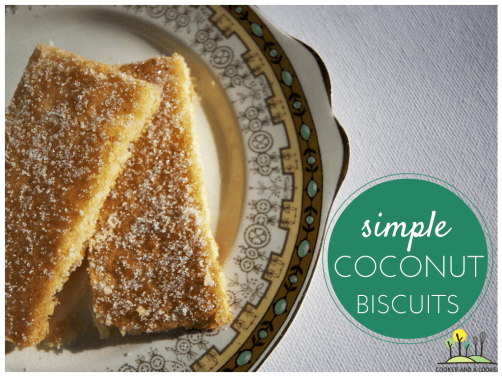simple coconut biscuits