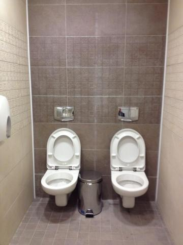 Sochi Village Toilets. Source: Steve Rosenburg, twitter.