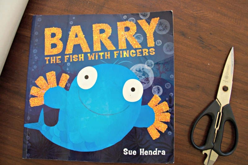 Barry the Fish with Fingers