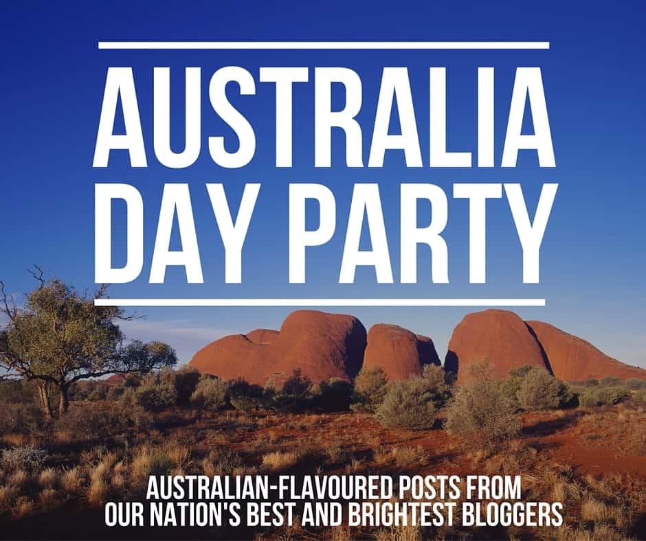 australia day party invite