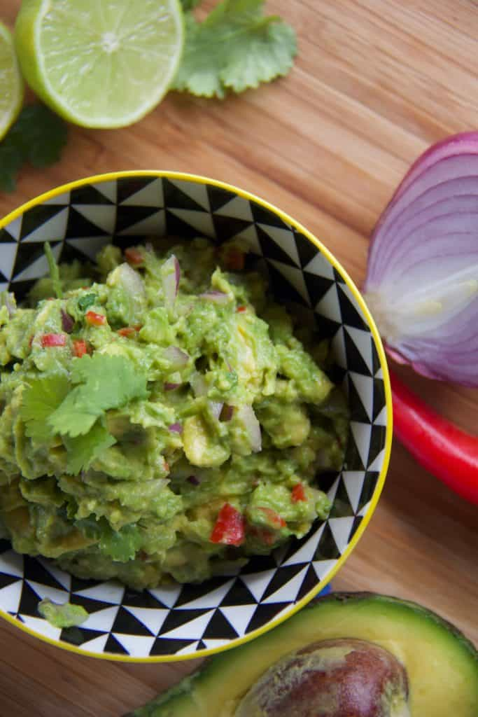 how to make guacamole recipe