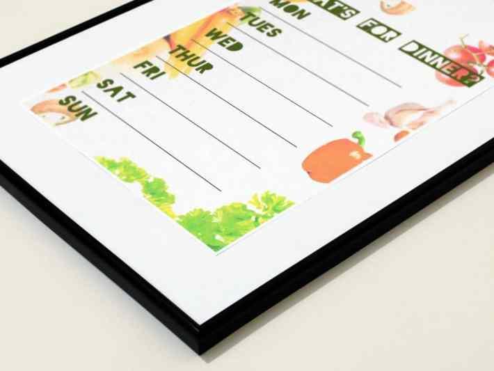 free meal planner printables
