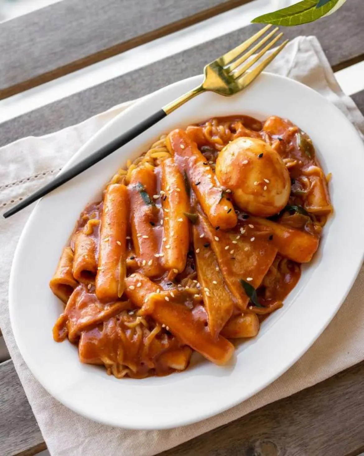 Tteokbokki (Spicy Rice Cakes)