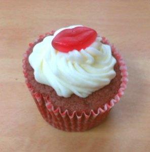 Finished cupcake