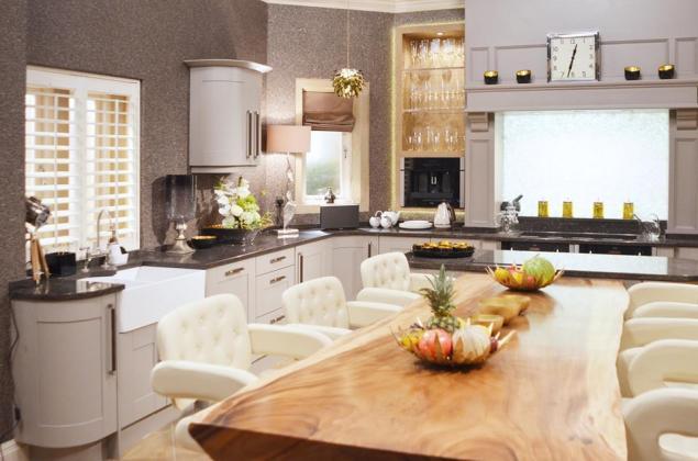 Kitchen In Home Farm Emmerdale