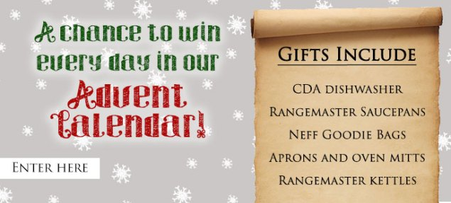 A chance to win every day in our Advent Calendar