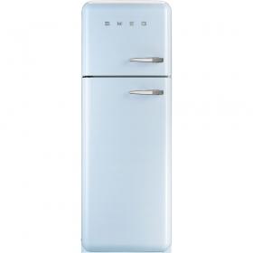 Smeg FAB30LFA 50's Retro Style Pastel Blue Fridge Freezer