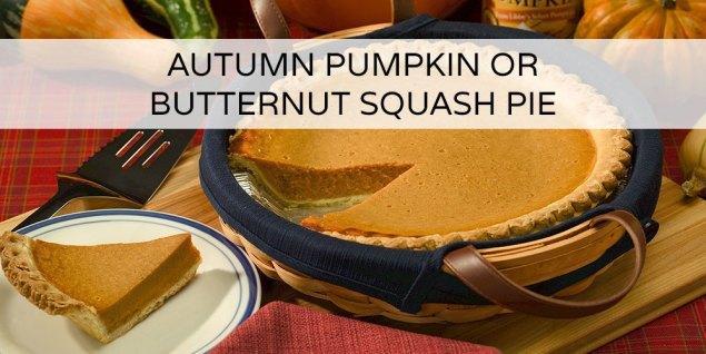 Autumn Pumpkin or Butternut Squash Pie