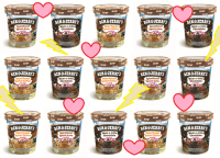 Ben and Jerrys launch three new flavours