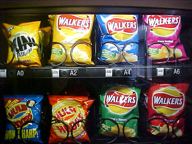 Crisps are not one of your five a day