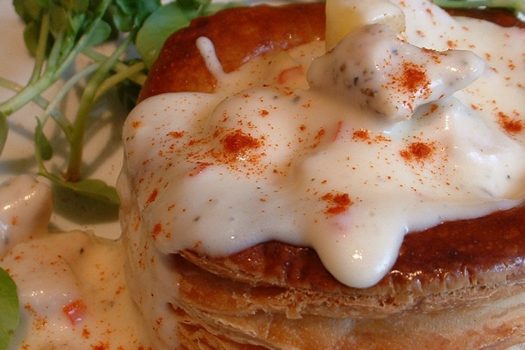 Mushroom duxelle - use in this recipe for pumpkin and chicken vol au vents