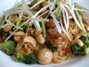 Peeling and grating ginger - use ginger in this recipe for stir-fried duck