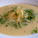 Swede and potato soup