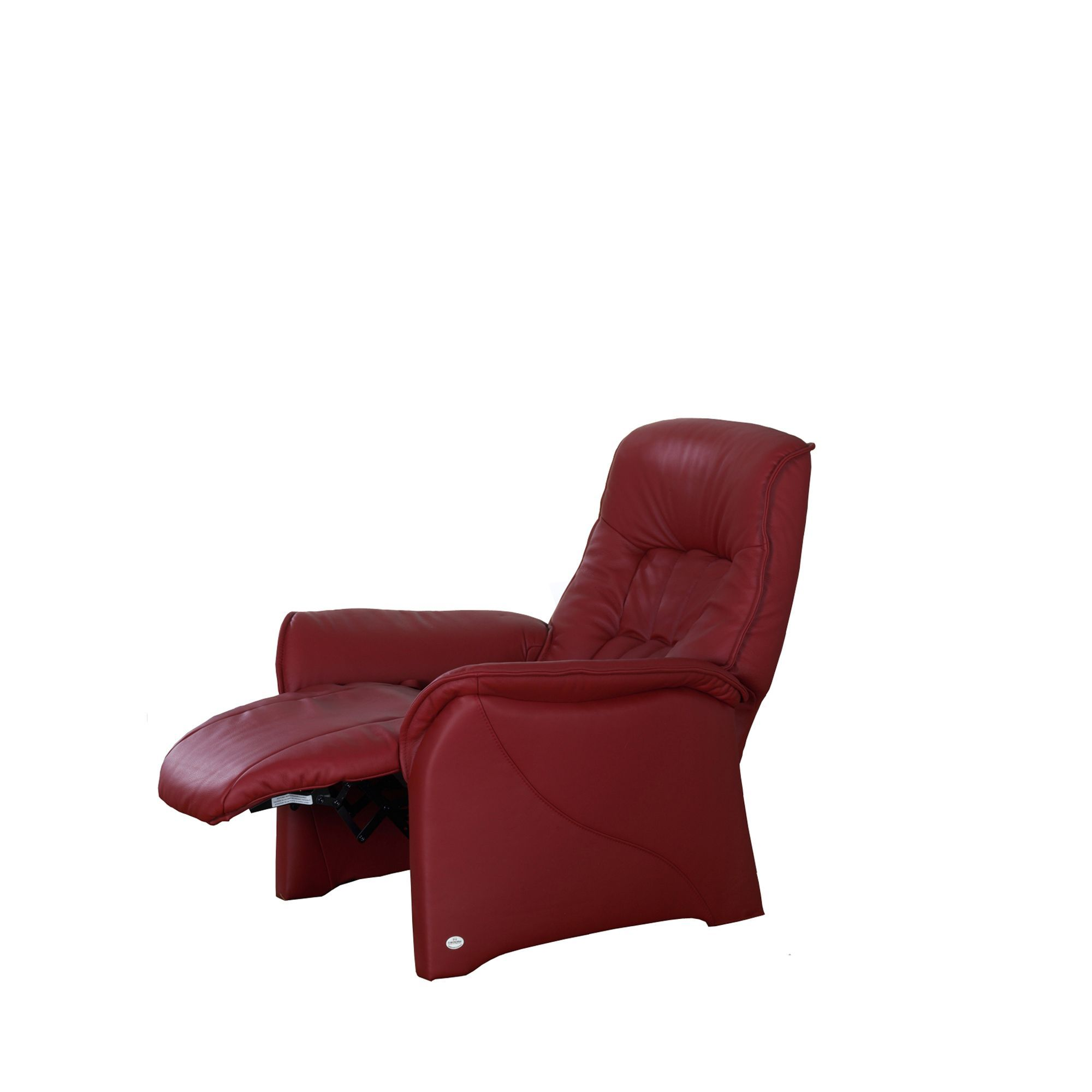 easy chairs with integral footrest funky office himolla rhine manual recliner armchair cookes