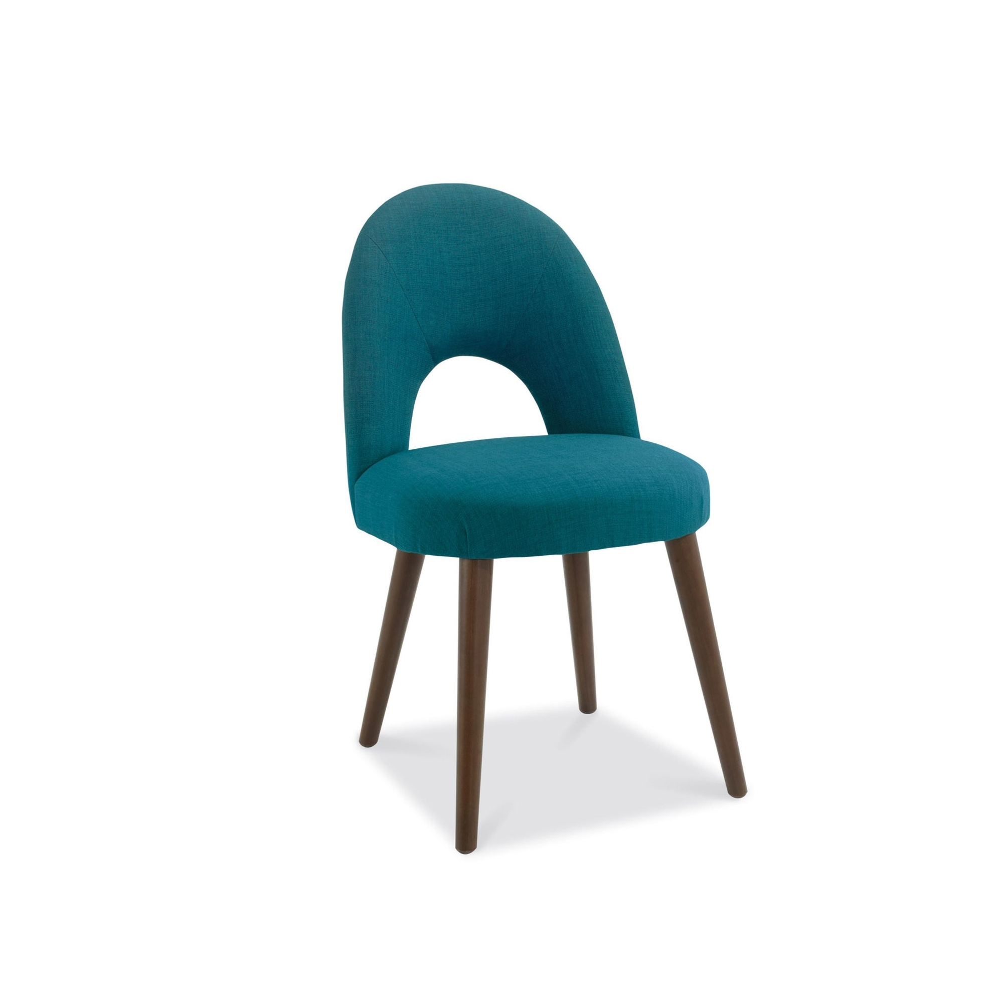 teal dining chairs desk and chair cookes collection norway walnut upholstered