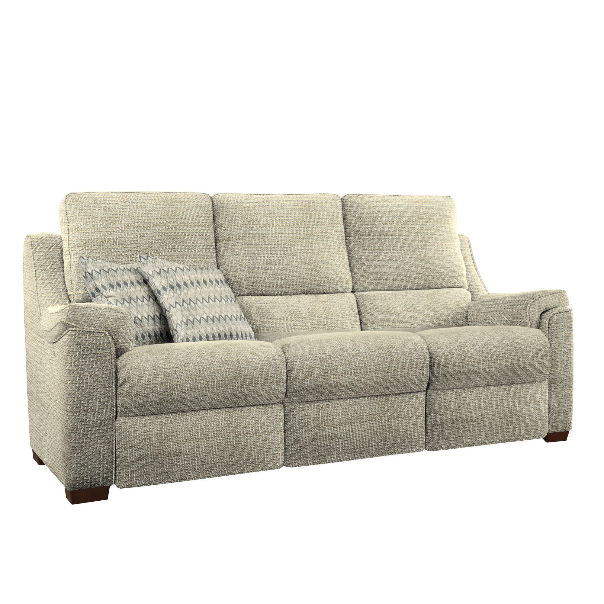 knoll sofas uk how to turn a twin bed into sofa albany 2 seat double power fabric reclining by parker