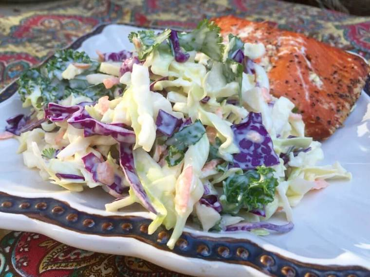 Old Fashioned Sweet Sour Coleslaw Recipe