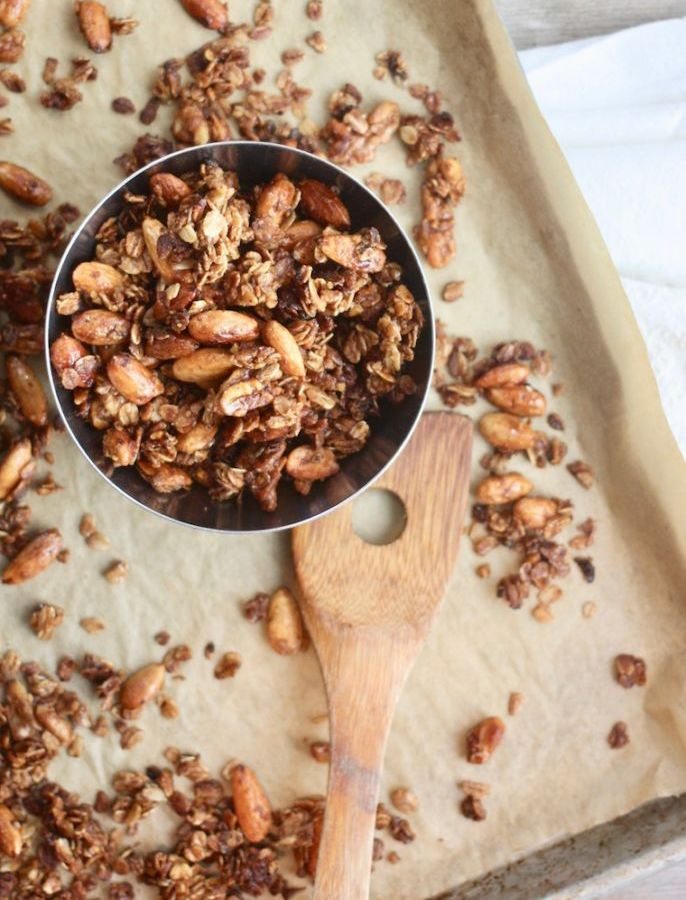 Homemade Maple Nut Granola Recipe