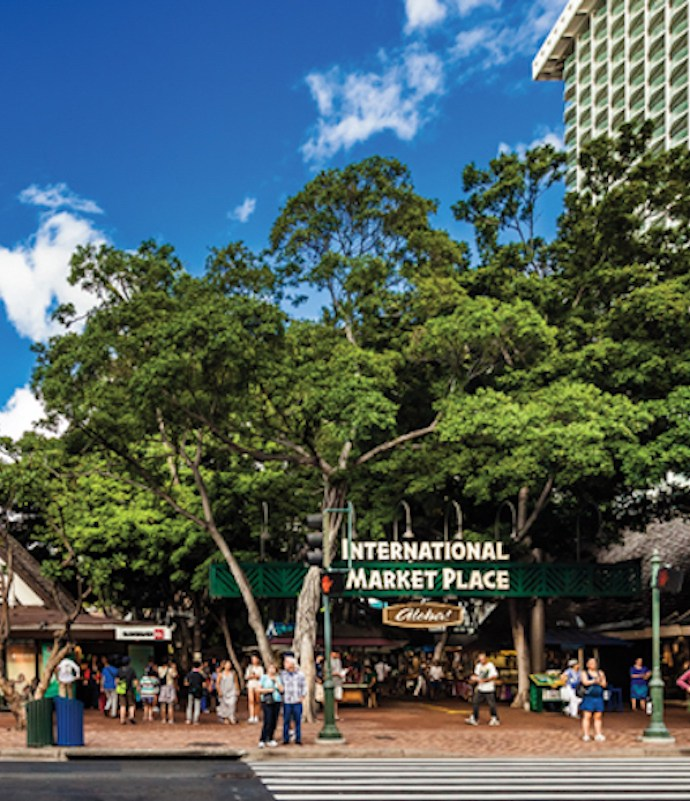International Market Place in Oahu, Hawaii
