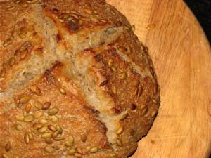 Sourdough with Pumpkin Seeds