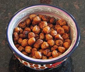 Crispy Roasted Garbanzo Beans