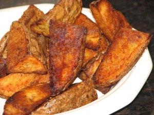 crispy spicy oven fries