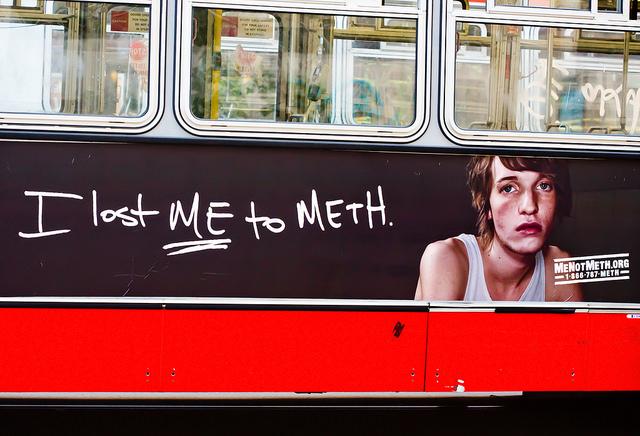 meth addict