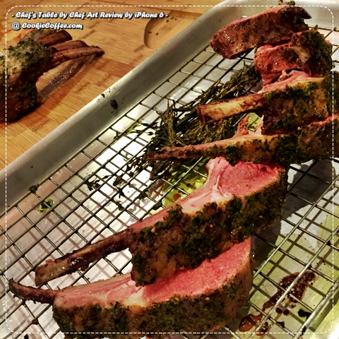 chef-s-table-art-review-personal-private-lamb-grill-bbq-kale-rosemary-herb-slice