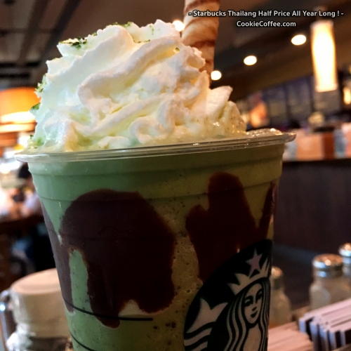 starbucks-green-tea-frappuccino-half-price-thailand-chocolate-review