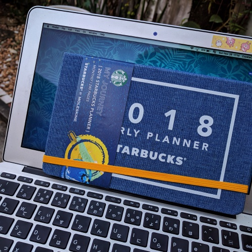 starbucks-thailand-planner-2018-free-how-to-get-review-moleskine-note-macbook-japan